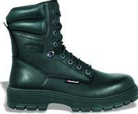 COFRA-FLINT S3 CI HRO SRC, Sicherheits-Arbeits-Berufs-Schuhe, Schnürstiefel, schwarz