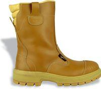COFRA-CALIFORNIA S3 HRO SRC, Sicherheits-Arbeits-Berufs-Schuhe, beige