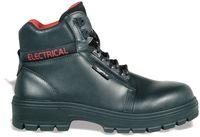 COFRA-ELECTRICAL SB  P WRU HRO FO SRC, Sicherheits-Arbeits-Berufs-Schuhe, Schnürstiefel, schwarz