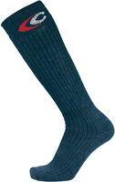COFRA-SWINDON LUNGA, Arbeits-Berufs-Socken, Winter Kniestrümpfe, blau