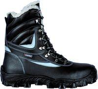 COFRA-NEW BARENTS S3 CI SRC, Winter-Sicherheits-Arbeits-Berufs-Schuhe, Hochschuhe, schwarz