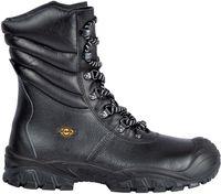 COFRA-NEW URAL S3 ÜK CI SRC, Winter-Sicherheits-Arbeits-Berufs-Schuhe, Hochschuhe, schwarz