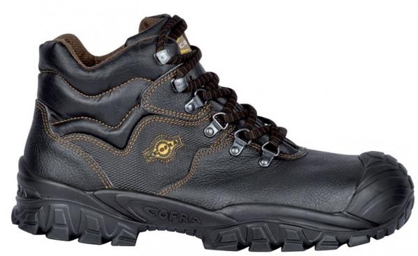 COFRA-NEW RENO S3 ÜK SRC, Sicherheits-Arbeits-Berufs-Schuhe, Hochschuhe, schwarz