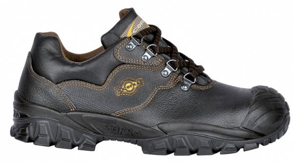 COFRA-NEW VOLGA S3 ÜK SRC, Sicherheits-Arbeits-Berufs-Schuhe, Halbschuhe, schwarz