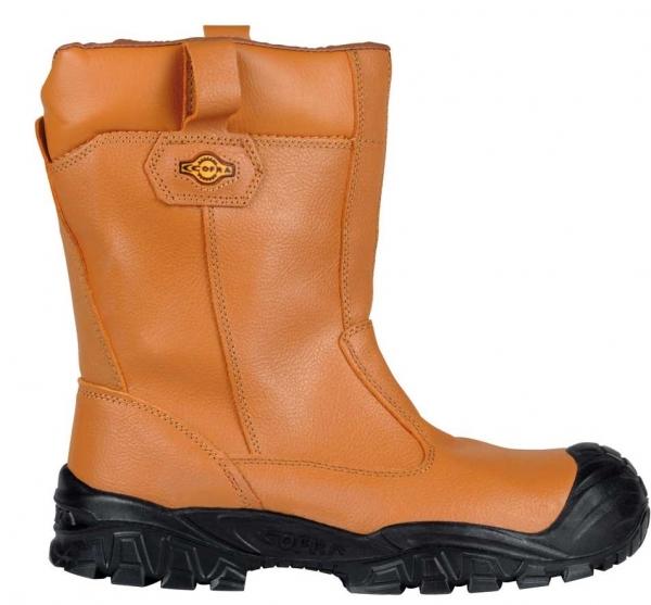 COFRA-NEW CASTLE S3 CI ÜK SRC, Winter-Sicherheits-Arbeits-Berufs-Schuhe, beige