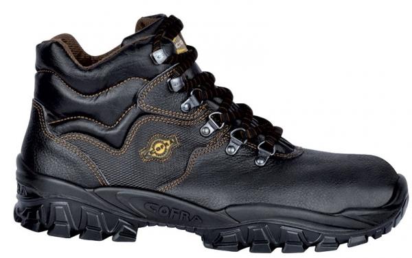 COFRA-NEW RENO S2 SRC, Sicherheits-Arbeits-Berufs-Schuhe, Hochschuhe, schwarz