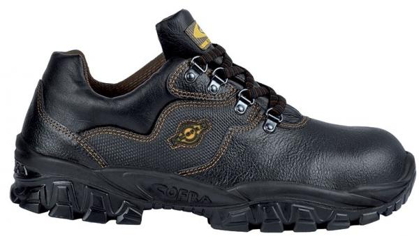 COFRA-NEW VOLGA S2 SRC, Sicherheits-Arbeits-Berufs-Schuhe, Halbschuhe, schwarz