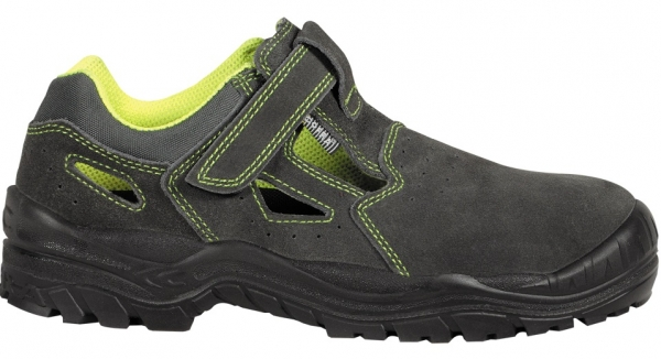 COFRA-AMMAN S1 P SRC, Sicherheits-Arbeits-Berufs-Schuhe, Halbschuhe, braun