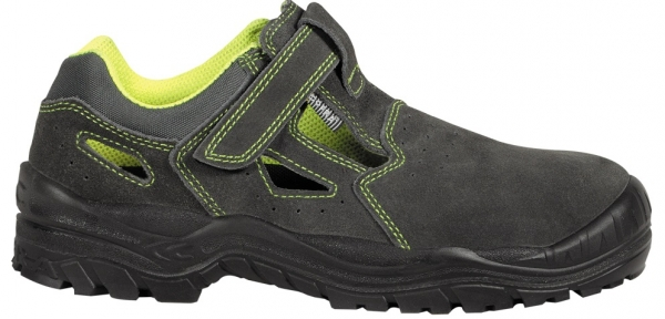 COFRA-AMMAN S1P, SRC, Sicherheits-Arbeits-Berufs-Sandalen, Farbe: grau