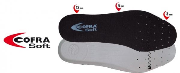 COFRA-Schuh-Zubehör, SOFT SOLETTA, Einlegesohlen