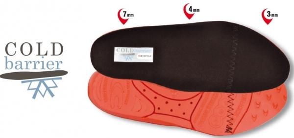 COFRA-Schuh-Zubehör, COLD BARRIER SOLETTA, Einlegesohlen