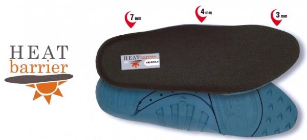 COFRA-Schuh-Zubehör, HEAT BARRIER SOLETTA, Einlegesohlen