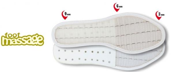 COFRA-Schuh-Zubehör, FOOT MASSAGE, Einlegesohlen