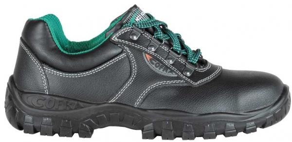 COFRA-ANTARES S3, SRC, Sicherheits-Arbeits-Berufs-Schuhe, Halbschuhe, schwarz