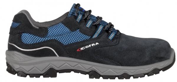 COFRA-S1P-Sicherheitshalbschuhe, STRETCHING BLUE, SRC, schwarz/blau