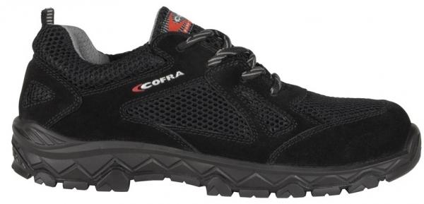 COFRA-S1P-Sicherhalbschuhe, BALANCER BLACK, SRC, schwarz