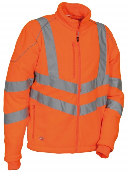 COFRA-DUKESSE Warnschutz-Fleece-Jacke, 300 g/m², orange