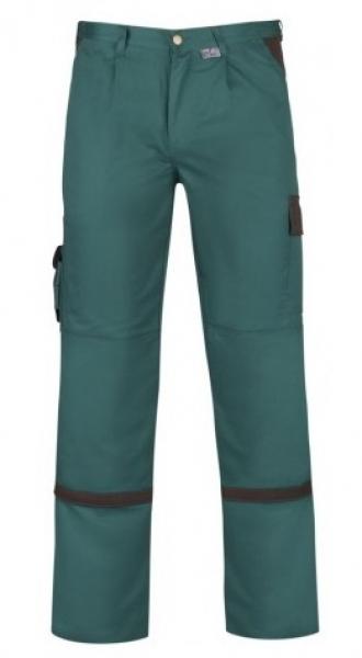 PKA Arbeits-Berufs-Bund-Hose, Praktika, MG260, grün/braun