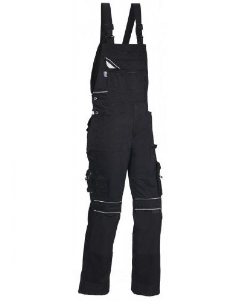 PKA Arbeits-Berufs-Latz-Hose Black Revolution, MG320, schwarz
