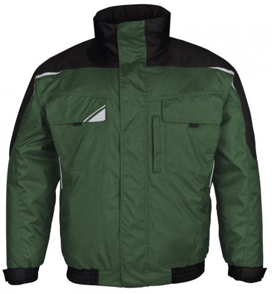 PKA-Kälte-Schutz, Winter-Arbeits-Berufs-Piloten-Jacke, Bestwork, grün/schwarz