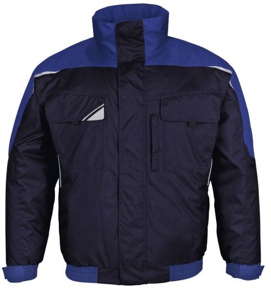 PKA-Kälte-Schutz, Winter-Arbeits-Berufs-Piloten-Jacke, Bestwork, hydronblau/kornblau