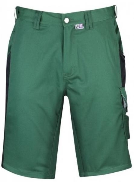 PKA Arbeits-Berufs-Shorts, Bestwork, 300 g/m², grün/schwarz