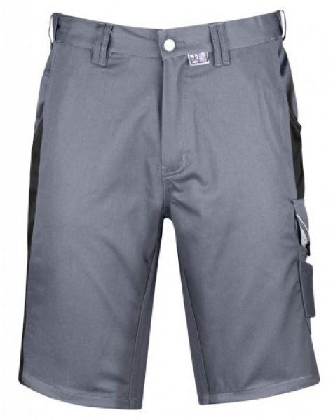 PKA Arbeits-Berufs-Shorts, Bestwork, 250 g/m², grau/schwarz