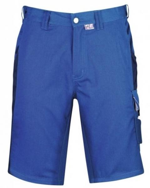 PKA Arbeits-Berufs-Shorts, Bestwork, 250 g/m², kornblau/hydronblau