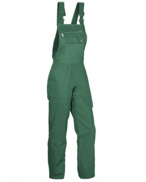 PKA Damen-Arbeits-Berufs-Latz-Hose Eco-Star, BW310, grün