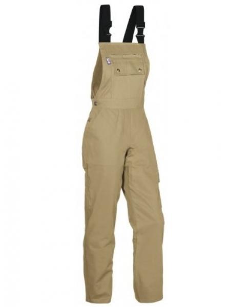 PKA Damen-Arbeits-Berufs-Latz-Hose Eco-Star, BW310, khaki