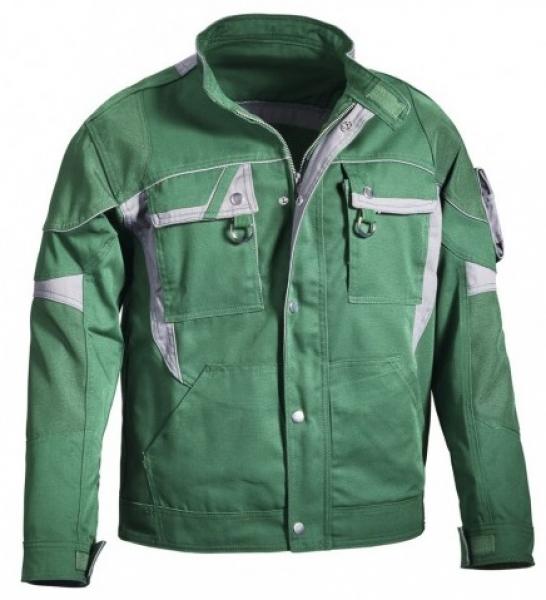 PKA-Arbeits-Berufs-Bund-Jacke, Blouson, Threeline De Luxe, MG330, grün/grau