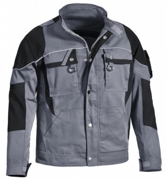 PKA-Arbeits-Berufs-Bund-Jacke, Blouson, Threeline De Luxe, MG330, grau/schwarz