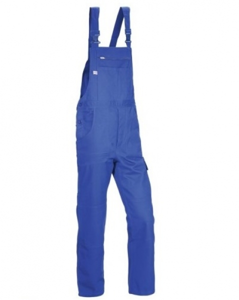 PKA Arbeits-Berufs-Latz-Hose Basic Plus, BW270, kornblau
