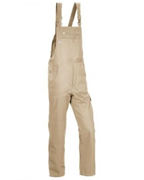 PKA Arbeits-Berufs-Latz-Hose Basic Plus, BW270, sand