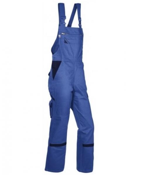 PKA Arbeits-Berufs-Latz-Hose Star, BW310, kornblau/hydronblau