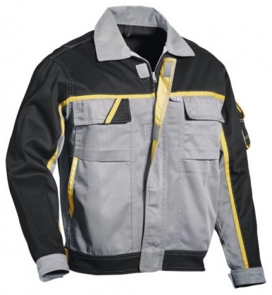 PKA-Arbeits-Berufs-Bund-Jacke, Blouson, Magic, MG270, grau/schwarz/gelb