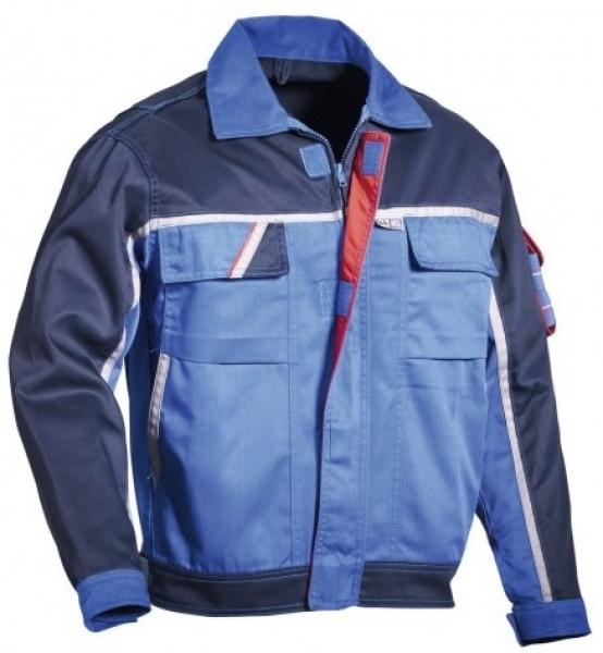 PKA-Arbeits-Berufs-Bund-Jacke, Blouson, Magic, MG270, kornblau/hydronblau/rot/grau