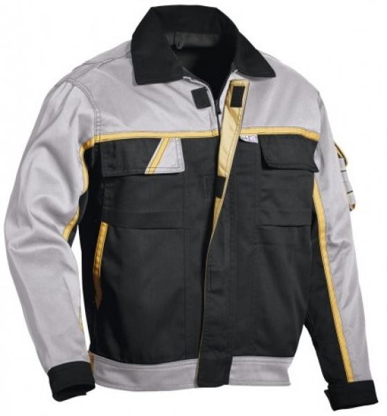 PKA-Arbeits-Berufs-Bund-Jacke, Blouson, Magic, MG270, schwarz/grau/gelb