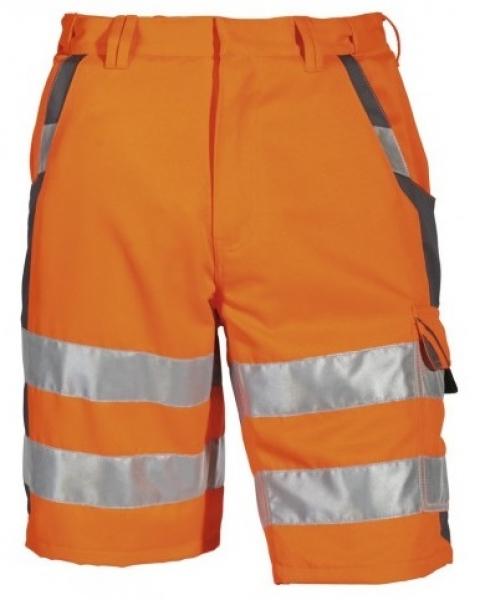 PKA-Warn-Schutz-Shorts, 1 Cargotasche, ca. 280 g/qm, orange
