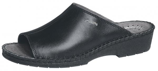 ABEBA-Reflexor-Damen-Arbeits-Berufs-Pantolette, schwarz