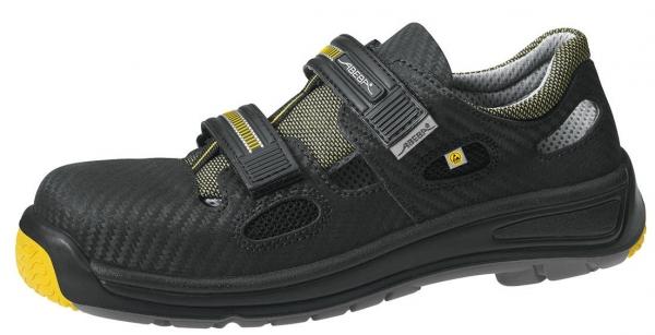 ABEBA-Static-Control-S1-Damen- u. Herren-Sicherheits-Arbeits-Berufs-Sandalen, schwarz