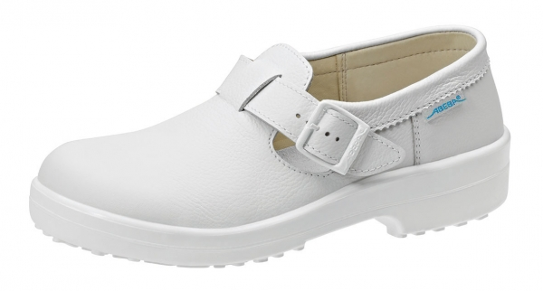 ABEBA-Classic-S2-Damen- u. Herren-Sicherheits-Arbeits-Berufs-Schuhe, Halbschuhe, weiß