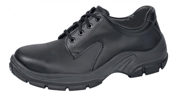 ABEBA-Protektor-Line-S2-Damen- u. Herren-Sicherheits-Arbeits-Berufs-Schuhe, Halbschuhe, schwarz