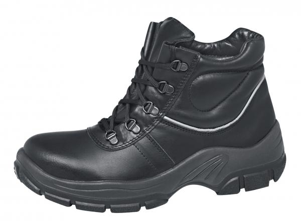 ABEBA-Protektor-Line-S2-Damen- u. Herren-Sicherheits-Arbeits-Berufs-Schuhe, hoch, Schnürstiefel, schwarz