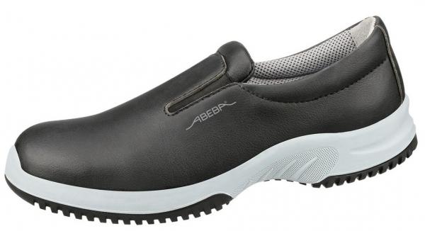 ABEBA-UNI6 S3 SRC, Sicherheitshalbschuhe, schwarz