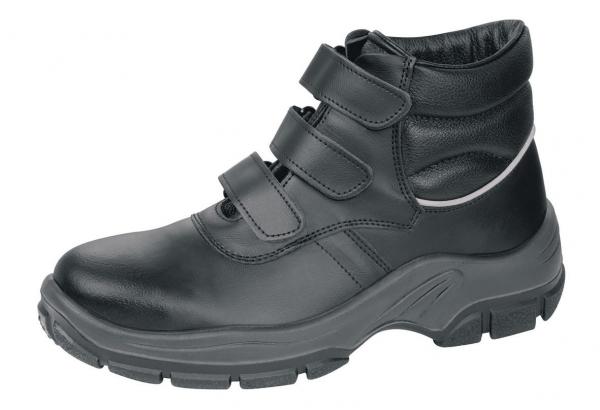 ABEBA-Protektor-Line-S3-Damen- u. Herren-Sicherheits-Arbeits-Berufs-Schuhe, hoch, Schnürstiefel, schwarz