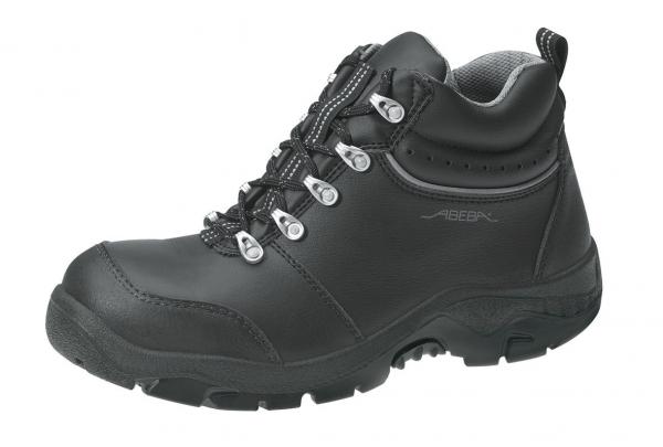ABEBA-Anatom-S2-Damen- u. Herren-Sicherheits-Arbeits-Berufs-Schuhe, hoch, Schnürstiefel, schwarz