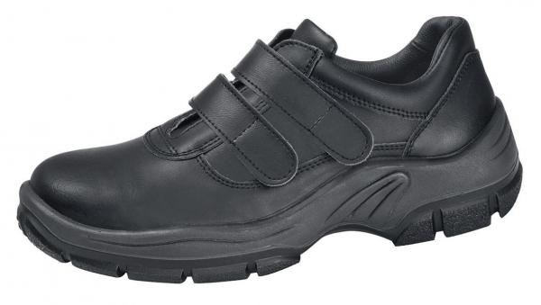ABEBA-Protektor-Line-S3-Damen- u. Herren-Sicherheits-Arbeits-Berufs-Schuhe, Halbschuhe, schwarz
