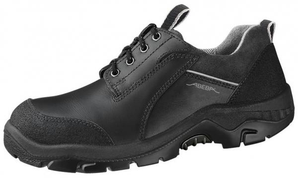 ABEBA-Anatom-S3-Damen- u. Herren-Sicherheits-Arbeits-Berufs-Schuhe, Halbschuhe, schwarz