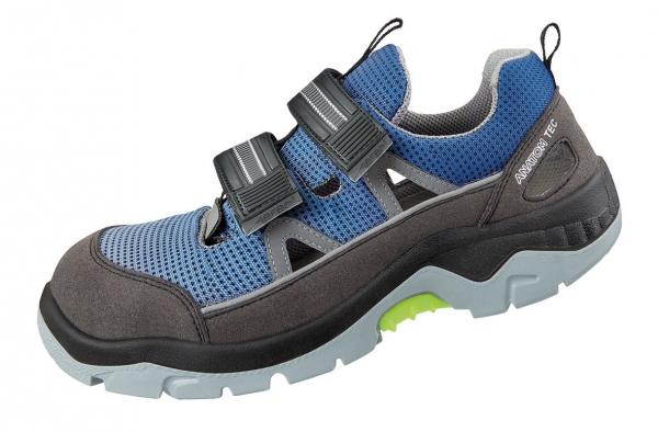 ABEBA-Anatom-S1P-Damen- u. Herrenklettschuhe, blau